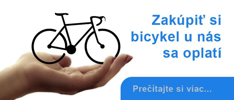 Balík služieb k novému bicyklu