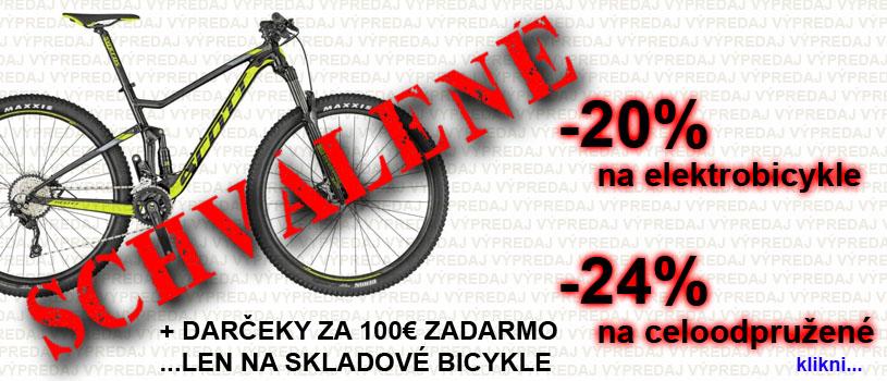 Výpredaj bicyklov