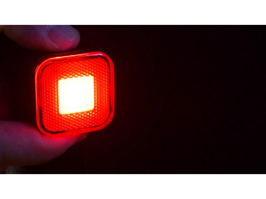 5832 lampa zad a square usb cobled 40 lm