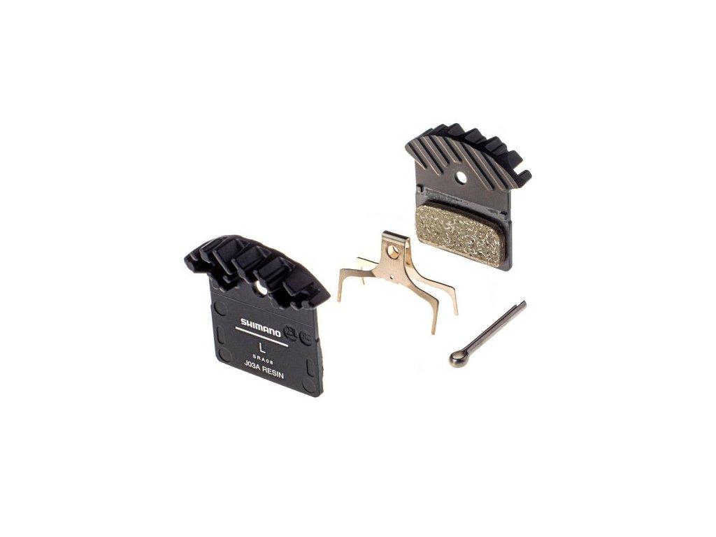 9186 brzdove dosticky shimano xtr xt slx j02a polymerove originalne balenie