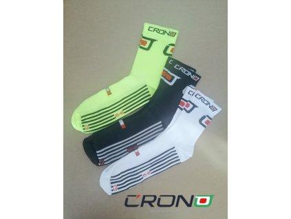Ponozky  CRONO /3 farebné varianty / (Veľkosť NEONŽLTÁ 42-44)