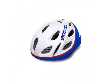 cyklistika prilby briko pony white cyklisticka prilba white blue 11821 0d7b