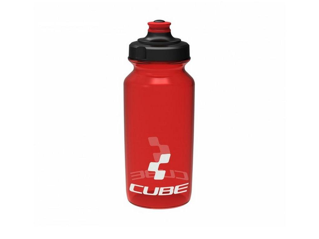 Fľaša CUBE Icon 500ml červená