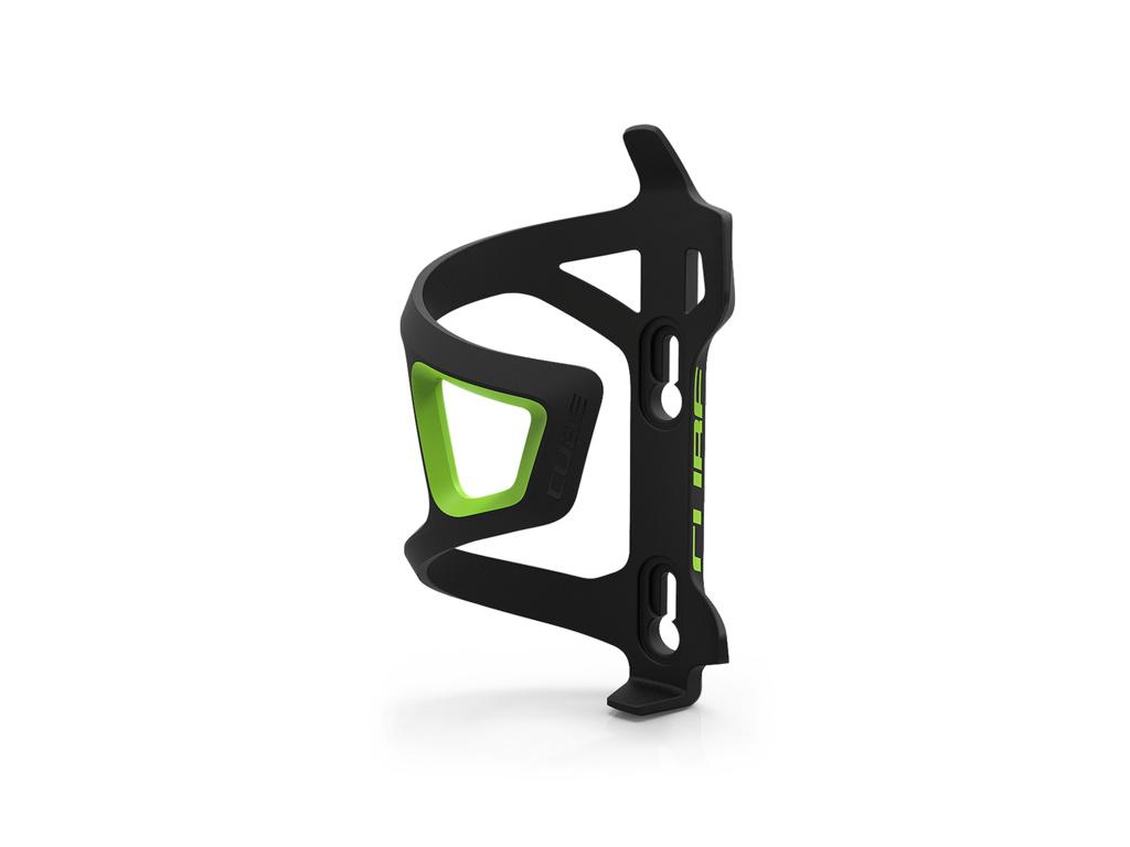 Košík na fľašu CUBE HPP Sidecage pravý zelený