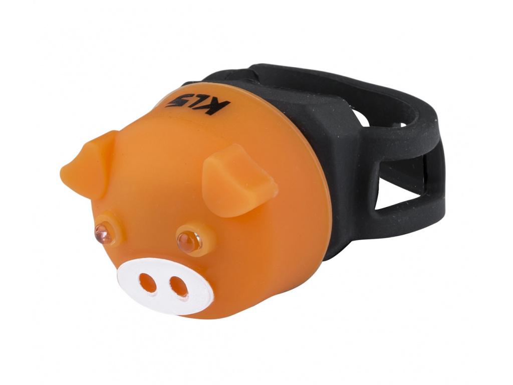 Osvetlenie zadné KLS PIGGY, orange