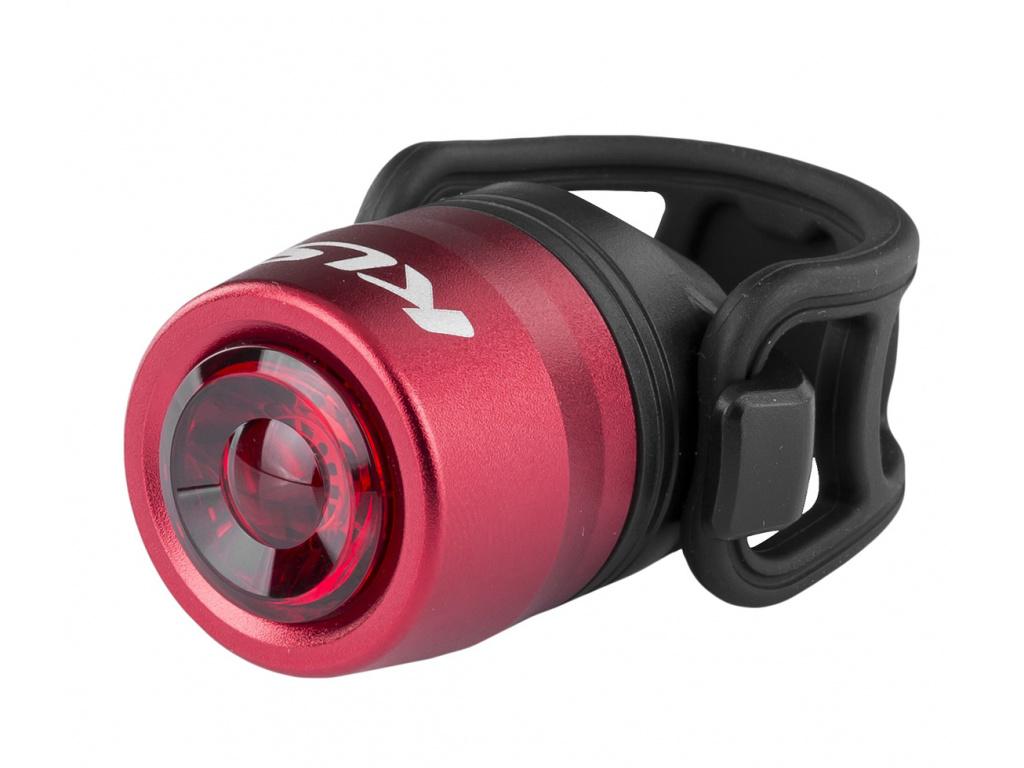 Osvetlenie zadné nabíjateľné IO USB Rear, red