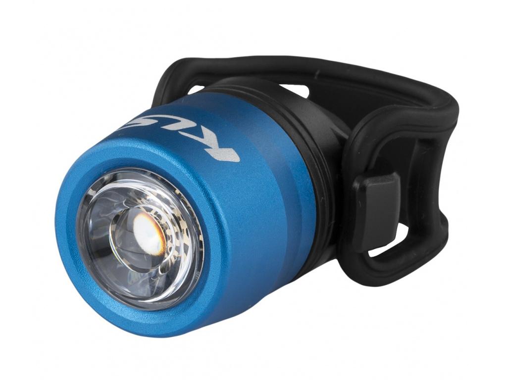 Osvetlenie predné nabíjateľné IO USB Front, blue