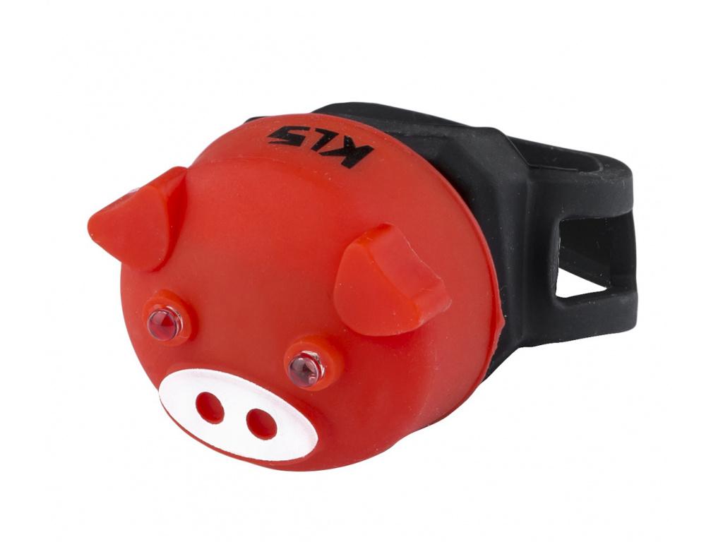 Osvetlenie zadné KLS PIGGY, red