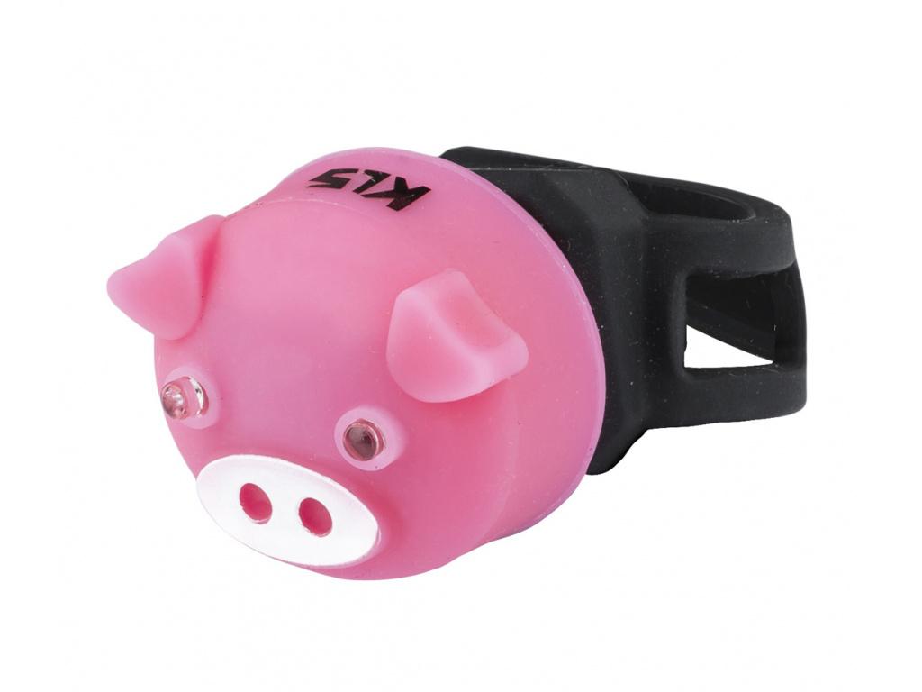 Osvetlenie zadné KLS PIGGY, pink