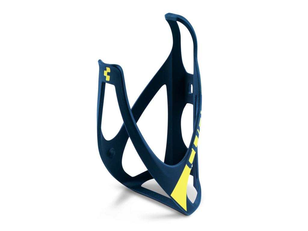 Košík na fľašu CUBE HPP, žltý design