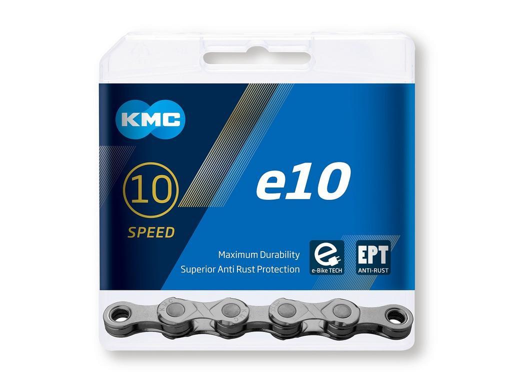 Reťaz KMC e10 EPT pre elektrobicykle, 10 Speed