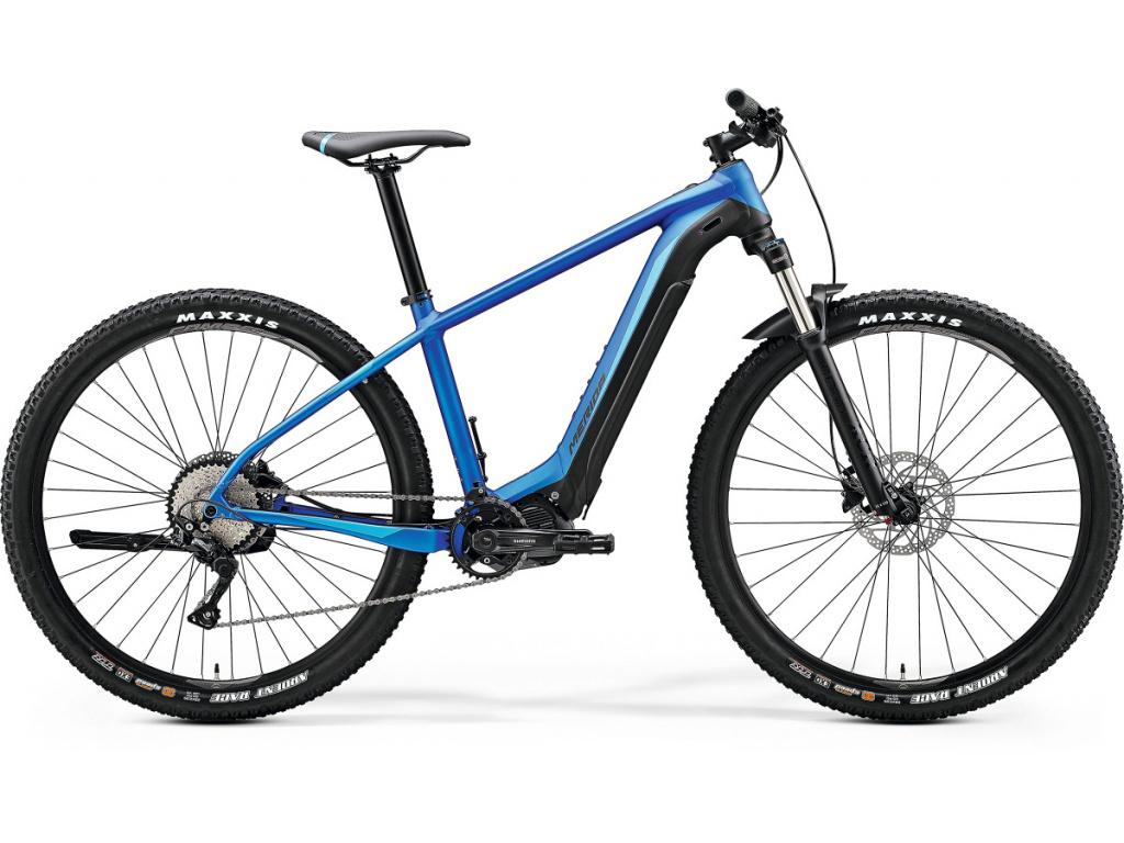 MERIDA eBIG.NINE 400 matný modrý/čierny 2020