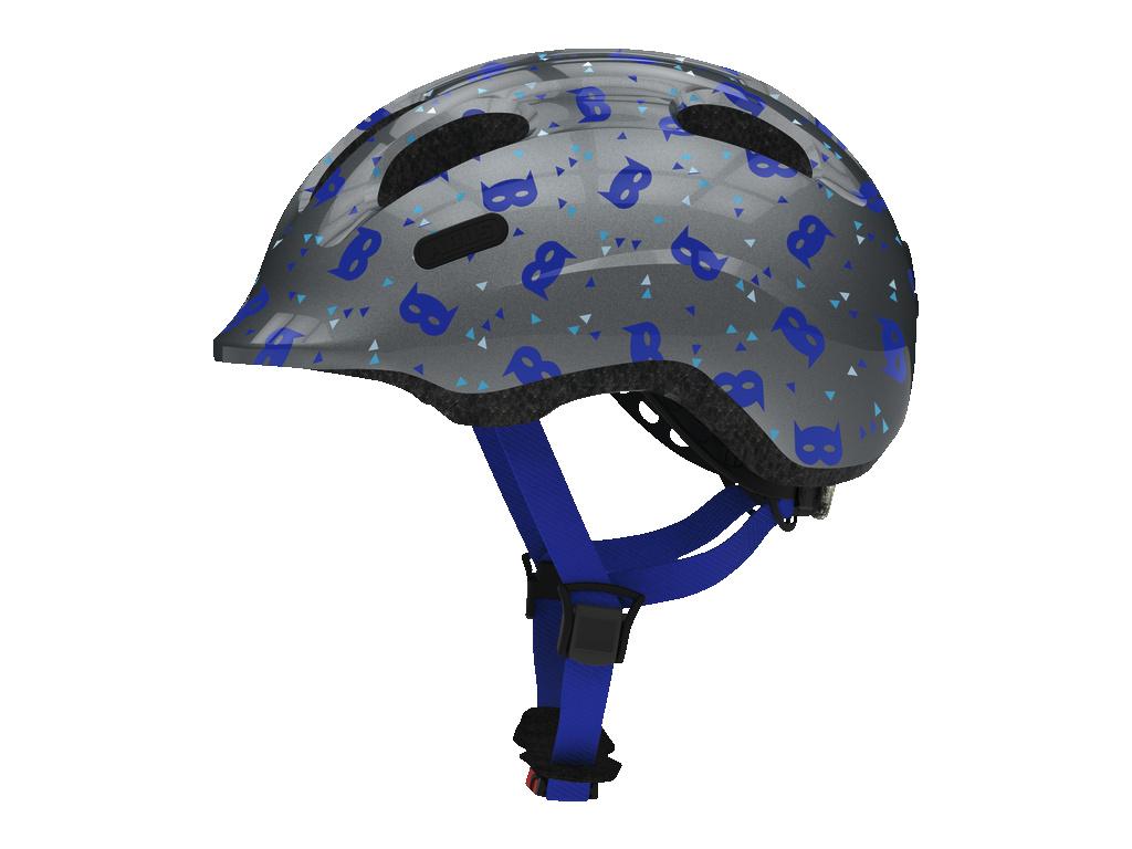 Prilba ABUS SMILEY 2.1 blue mask