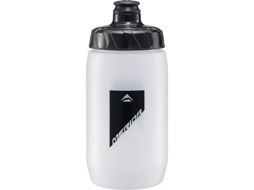 Fľaša 4058 MERIDA transparent/čierna 0.5 l