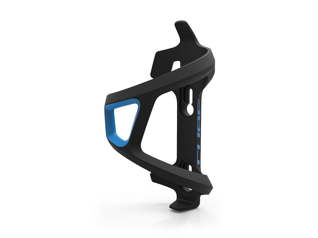Košík na fľašu CUBE HPP Sidecage ľavý modrý