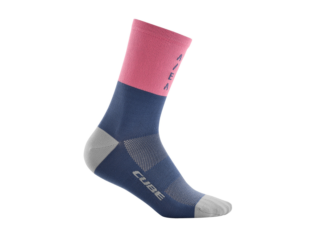 Ponožky CUBE High Cut ATX Trail Rose 2021