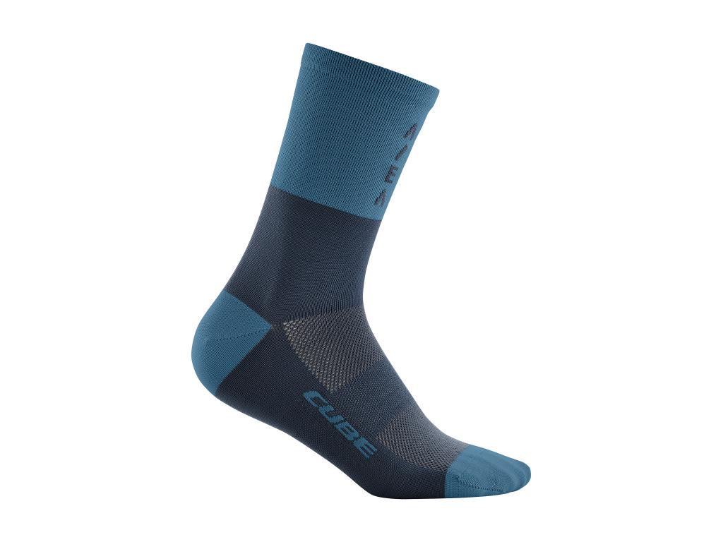 Ponožky CUBE High Cut ATX Trail Blue 2021