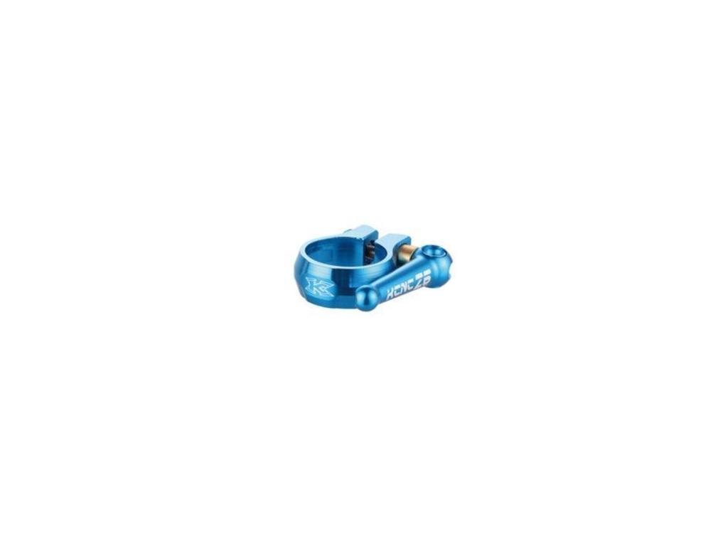 Objímka sedlovky KCNC SC10 Ti modrá