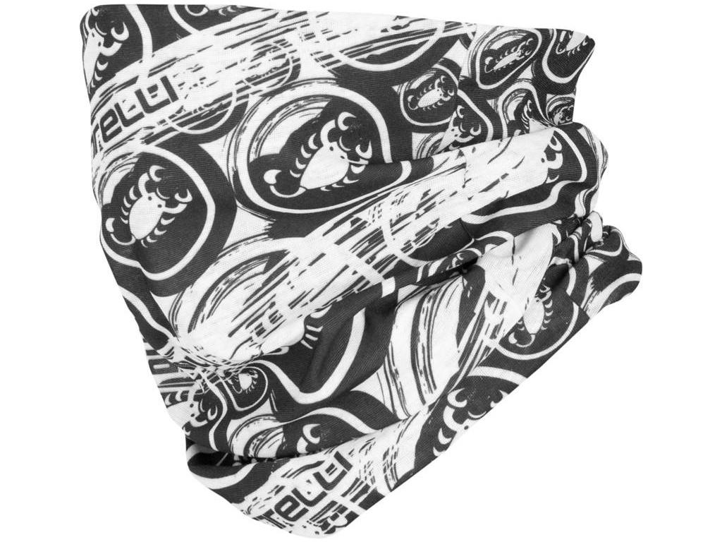 Nákrčník Castelli 20055 LIGHT HEAD THINGY 101 – bielo čierna