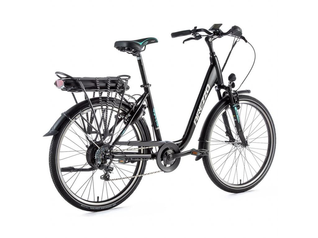Elektrobicykel AREZZO GRANDE black/green 2020
