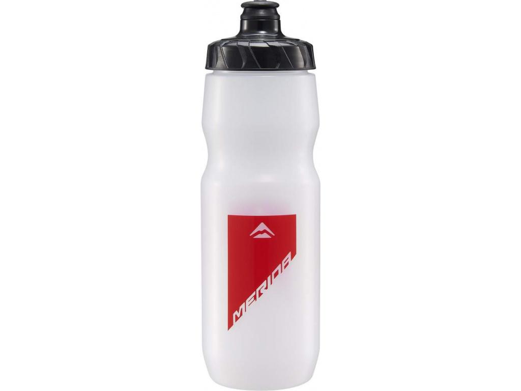 Fľaša 4014 MERIDA transparent/červená 0.75 l