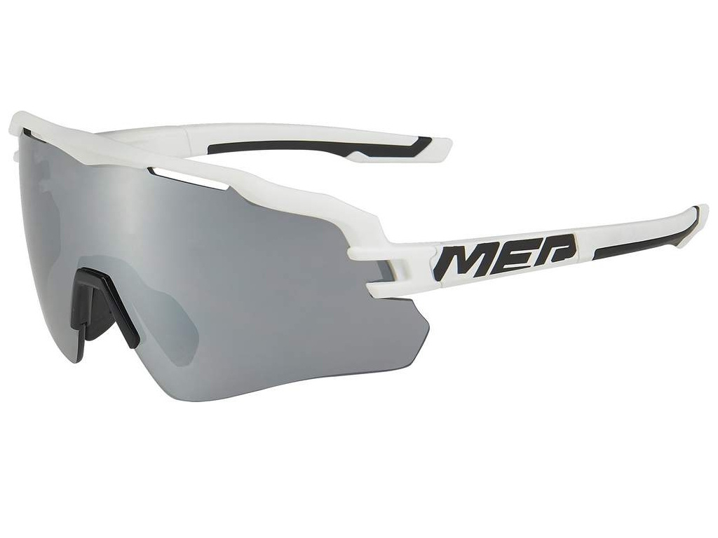 Okuliare slnečné Merida Race 1312 čierno-biele