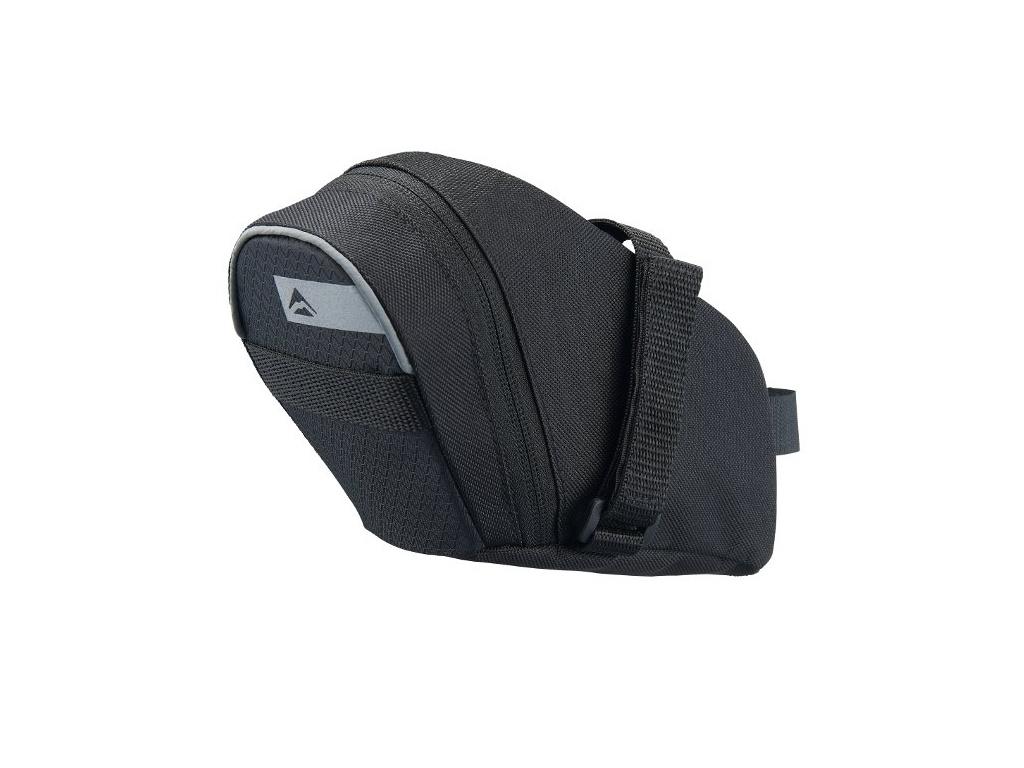 Taška podsedlová 4477 Velcro XL čierna