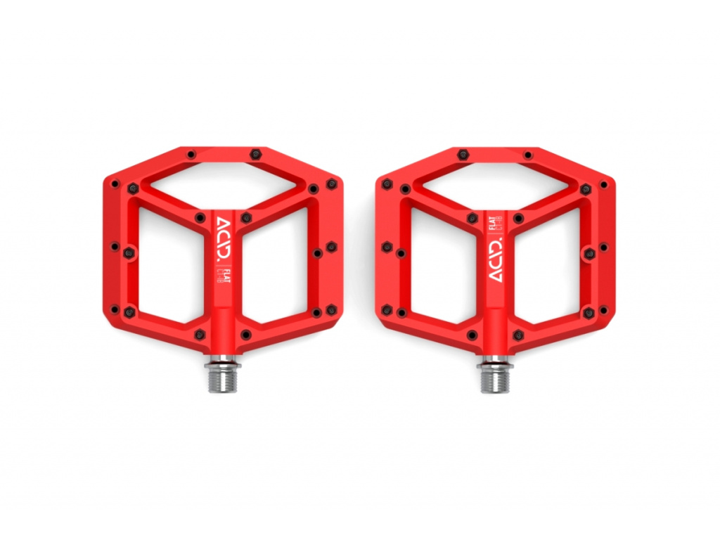 Pedále ACID Flat C1-IB červené
