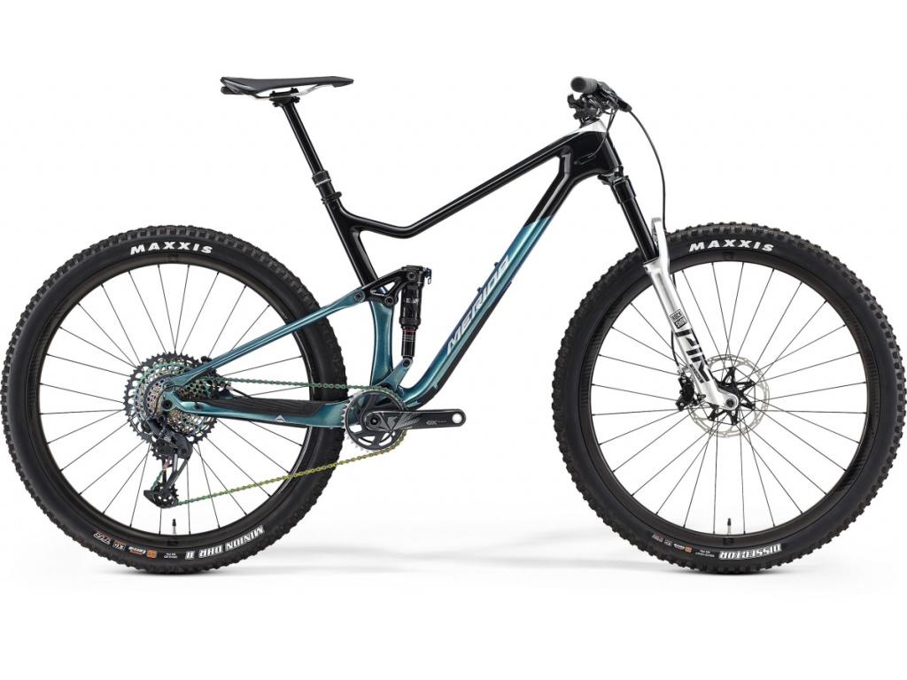Merida ONE-TWENTY 8000 SILVER/BLACK/BLUE 2021