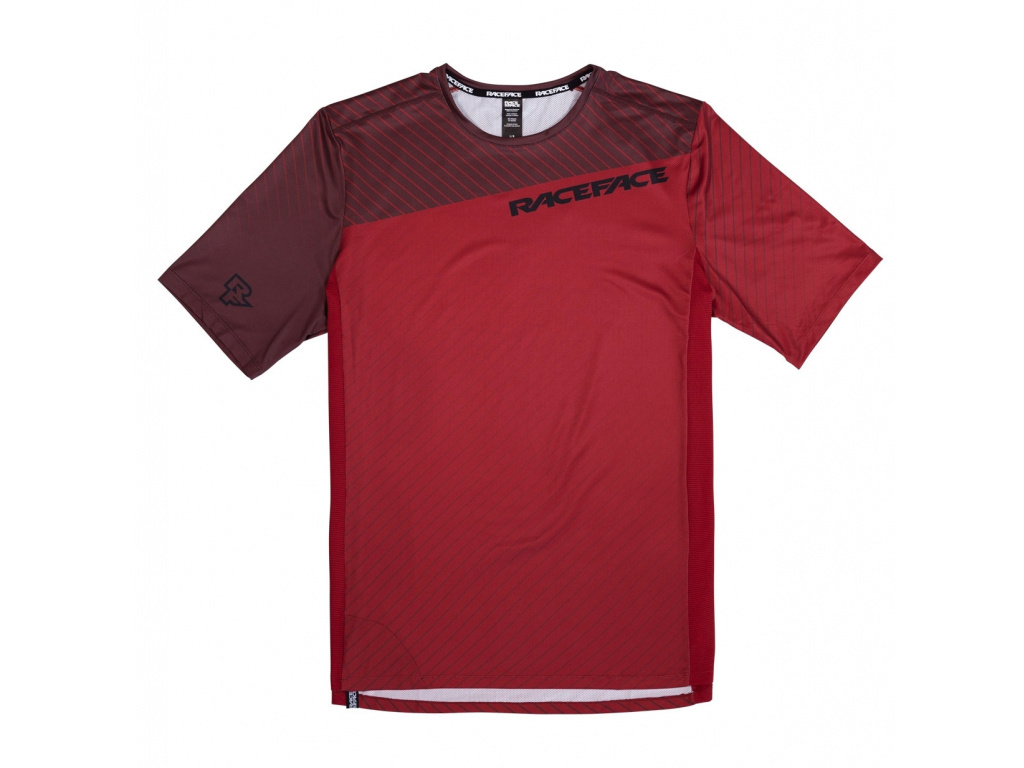 Dres Race Face Indy Dark red, 2021