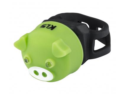 Osvetlenie zadné KLS PIGGY, green