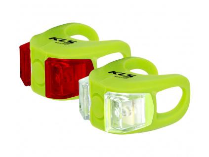 Osvetlenie set KLS TWINS, lime green