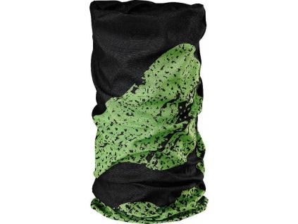 Nákrčník multifunkčný Merida 4061 zeleno-čierna