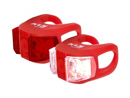 Osvetlenie set KLS TWINS, red