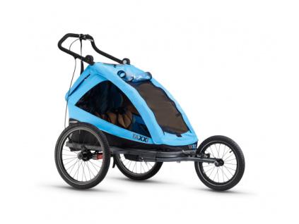 S'COOL TaXXi Elite 2 Cyklovozík modrý