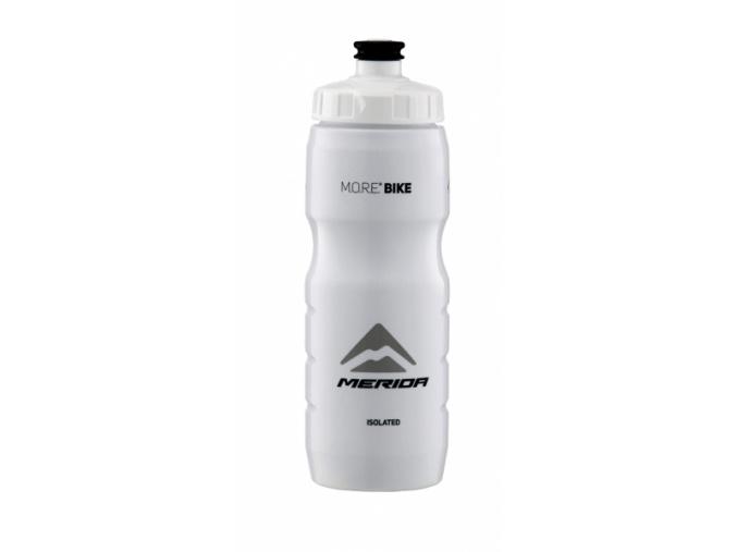 Fľaša MERIDA Termo 2993 V-logo čierna/biela 0,6L