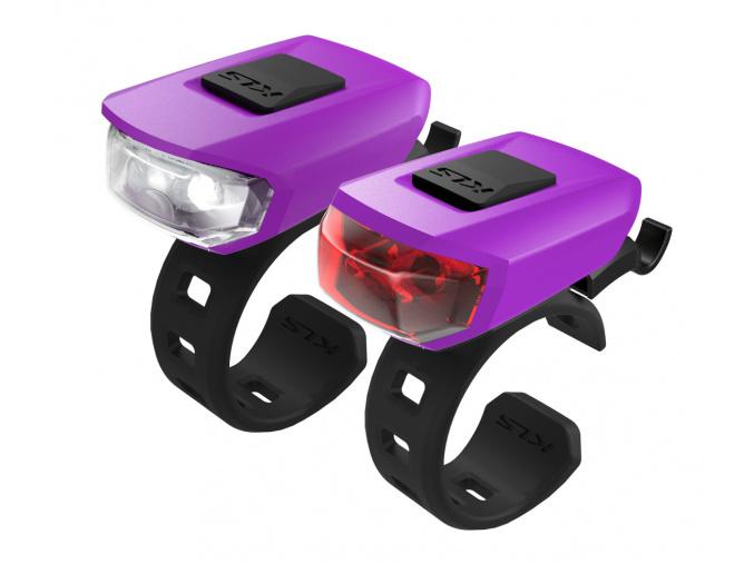 Osvetlenie set KLS VEGA USB, purple