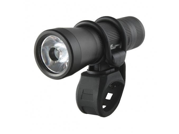 Svetlo CONE2 3W predné LED/3f, 150lm, vodotesné, čierne