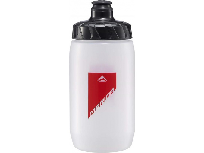 Fľaša 3994 MERIDA transparent/červená 0.5 l