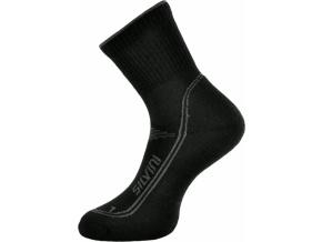 Ponožky SILVINI LATTARI UA904 black