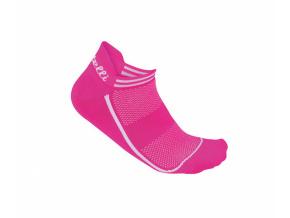 Ponožky CASTELLI INVISIBILE ružová fluo