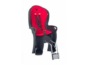 Detská sedačka HAMAX Kiss čierno-červená