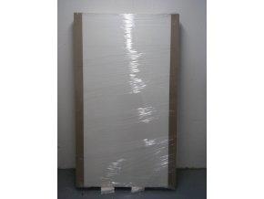 Drevené dvere plné, 850 mm, CPL biela, POSUVNÉ