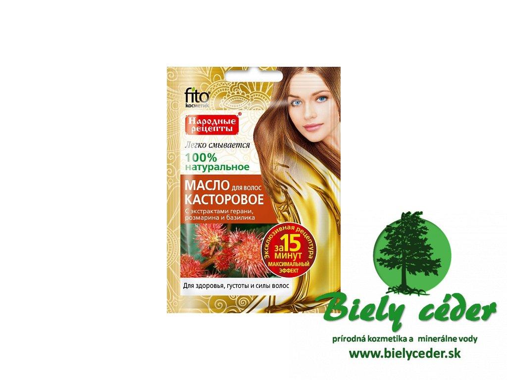 Fito Kosmetik  Prírodný ricínový olej na vlasy