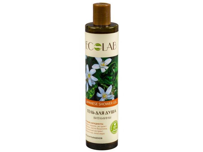 ECO LABORATORIE natural & organic Vitamínový sprchový gél 350 ml