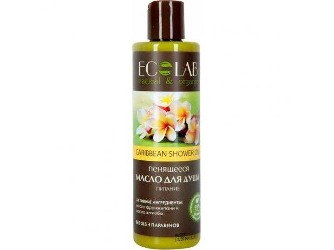 ECO LABORATORIE natural & organic Penivý sprchový olej Výživa 250 ml