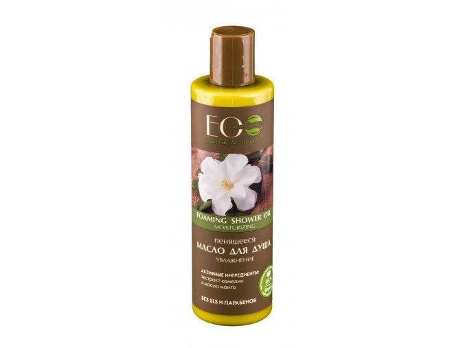 ECO LABORATORIE natural & organic Penivý sprchový olej Hydratácia 250 ml