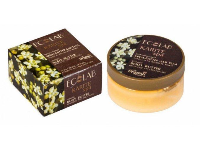 ECO LABORATORIE: KARITE SPA Vitamínový telový krém-butter  Tonus a mladosť pokožky 200 ml