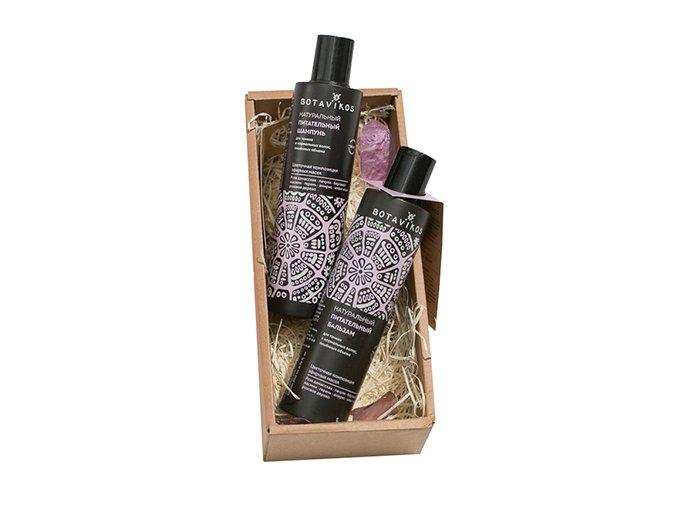 Botavikos: Darčekový set prírodnej starostlivosti o vlasy AROMATHERAPY RELAX Kvetinová mágia