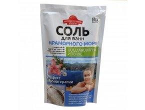 FITO KOSMETIK Svetové recepty krásy Soľ do kúpeľa z MRAMOROVÉHO MORA - Regenerácia a tonus 500 g
